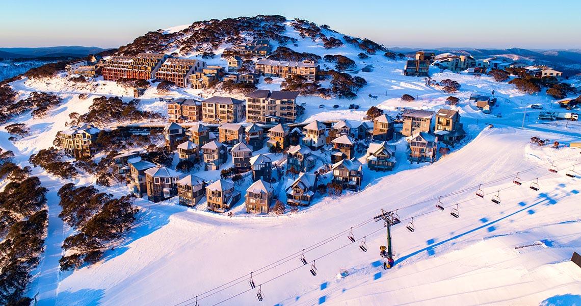 snow and winter victoria